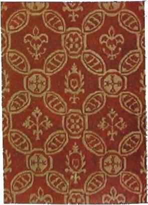 итальянская ткань 17 век