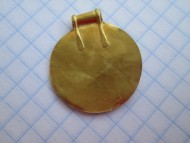 медальон с орнаментом в линейно-геометрическом стиле