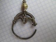 Колт Волынского типа, серебряный золоченый верх