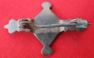 Древнеримская фибула-черепашха