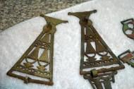 Звенья цепочек украшений киевской культуры