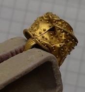 Ароматница Черняховской культуры, золото