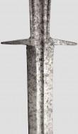 Немецкий боевой двуручный меч, первая половина 16 века - клейма мастера