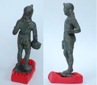 Бронзовая статуэтка греческого бога