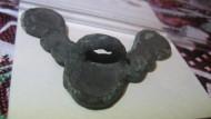 Медная киммерийская бляшка вформе крыльев VIII век н. э.