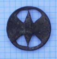 Ременной разделитель украшеный перегородчатой эмалью
