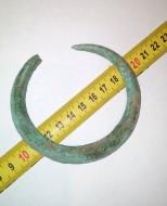 Бронзовый браслет, ранний железный век (Гальштатска культура)