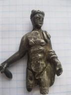 Античная серебрянная фигурка Меркурий