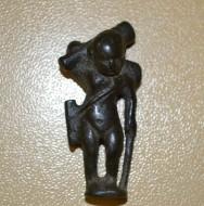 Бронзовая фигурка древнегреческого бога Эроса (Эрота)