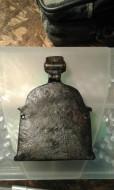 складень Богоматерь Одигитрия. Бронза. 16 век