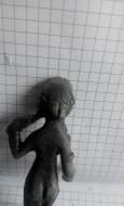 Древнеримская бронзовая статуэтка Венера Анадиомена
