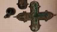 Рельефный энколпион «Купятицкая Богородица», середины-второй половины 12в.