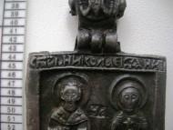 Иконка св.Николай и Параскева
