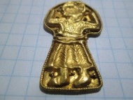 золотая фигурка богиня Макош