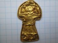 золотой медальон богиня Макош