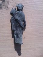 Находка древнеримской статуэтки
