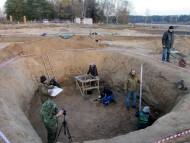 В придонной части этой колоссальной ямы, объемом более 100 кубических метров, впервые в Подмосковье был обнаружен уникальный кладовый комплекс.