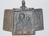 Складень Богродица Одигитрия. 12-13вв.