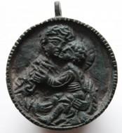 Иконка-привеска «Богородица Умиление»