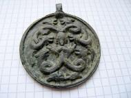Змеевик «Святые целители Косма и Дамиан»