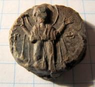 Вислая печать «св. Феодосий - Богоматерь»