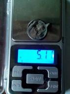 Иконка нательная «Оранта» - вес 5.11 грамм