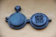 Панагия «Богоматерь Знамение. Троица Ветхозаветная» 15 век