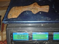 Секира-чекан, вес 290 грамм