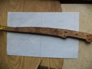 Скифский ятаганный нож
