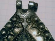 Решма серебряная с чернью