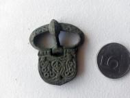 Хазарская пряжка, середина 7-века