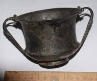 Древнеримский серебряный канфар