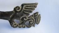 Скифская бляшка «Хищная птица с добычей»