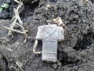Редкий крест с женским мотивом
