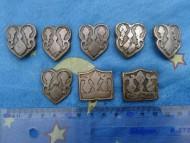 Поясная накладка из оловянистой бронзы