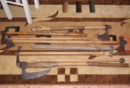 Коллекция топоров 12-17 век