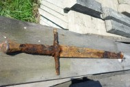 Тот самый меч, найденный под Мстиславлем и вывезенный из Беларуси