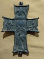 Энколпион 15-16 век «Распятие Христово - Святитель Николай»