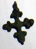Древнерусский нательный крестик