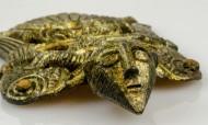 Крылатый человек из Уппокры, 8-10 в.в. Предположительно, англо-саксонский бог-кузнец Вёлунд