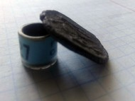 Пломба (возможно подвеска) со знаком Рюриковичей «Тризуб»