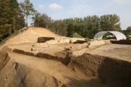 раскопки древних стен