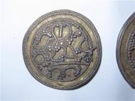 булгарская бляха с изображением сокольничего