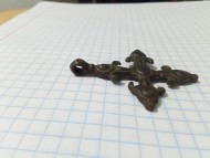 Древнерусский крест Волынского типа