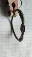 Серебряное височное кольцо со спиральными завитками