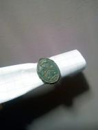 Кольцо шляхетское с гербом втор. пол 17 ст.