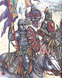 татаро-монгольский воин