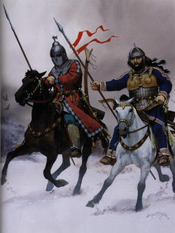 Авар и булгарин на Балканах