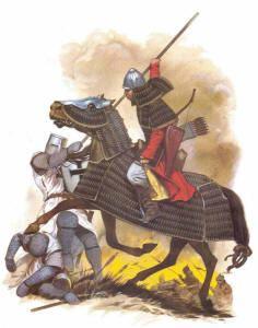 Монгольский тяжеловооруженный конник, Лигниц, 1241 г.