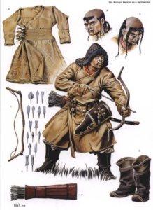 Монгольский легкий конный лучник